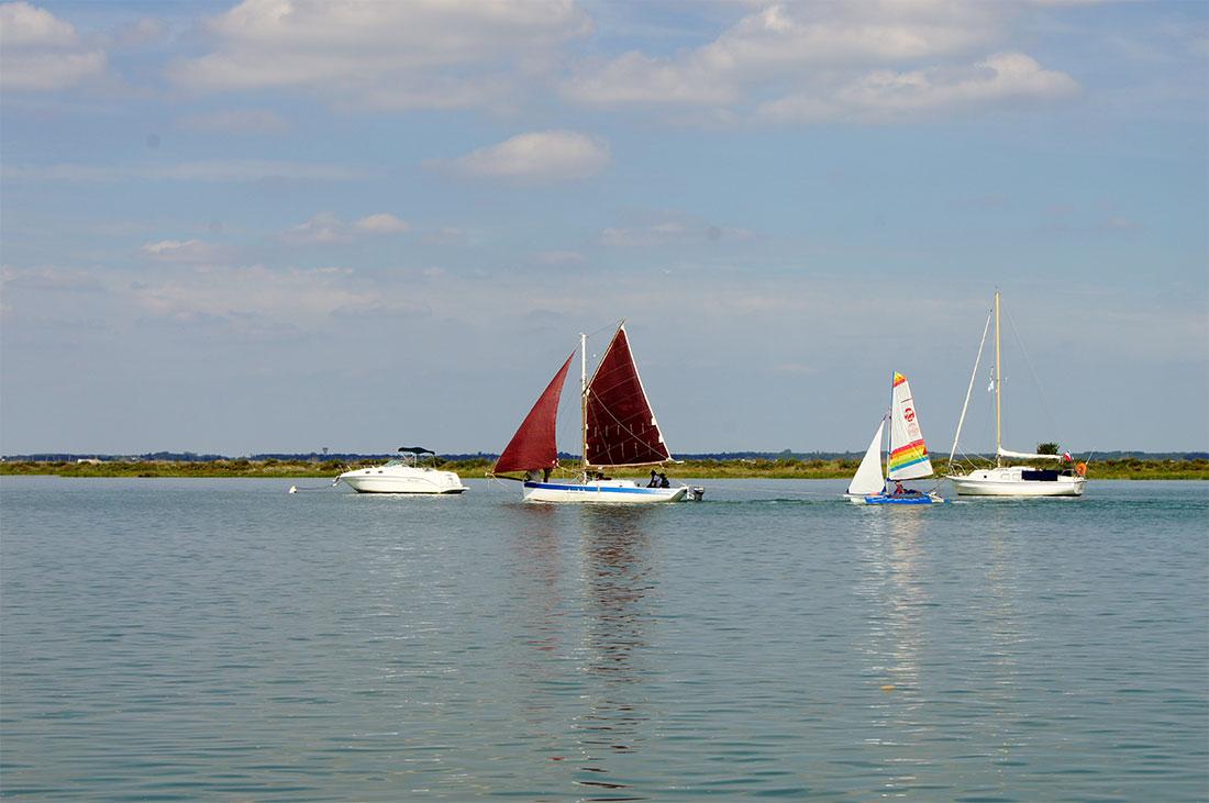 bateaux en Seudre